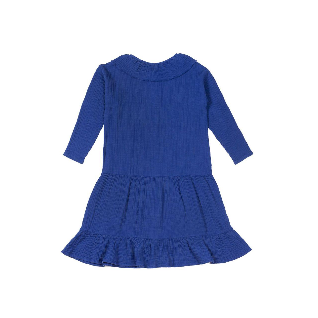 Blue-bambula-dress-back