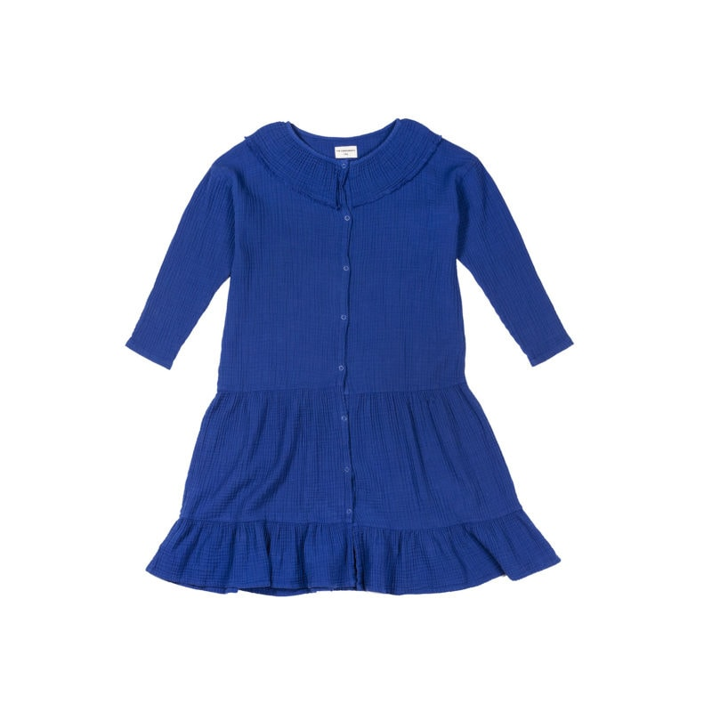 Blue-bambula-dress-front