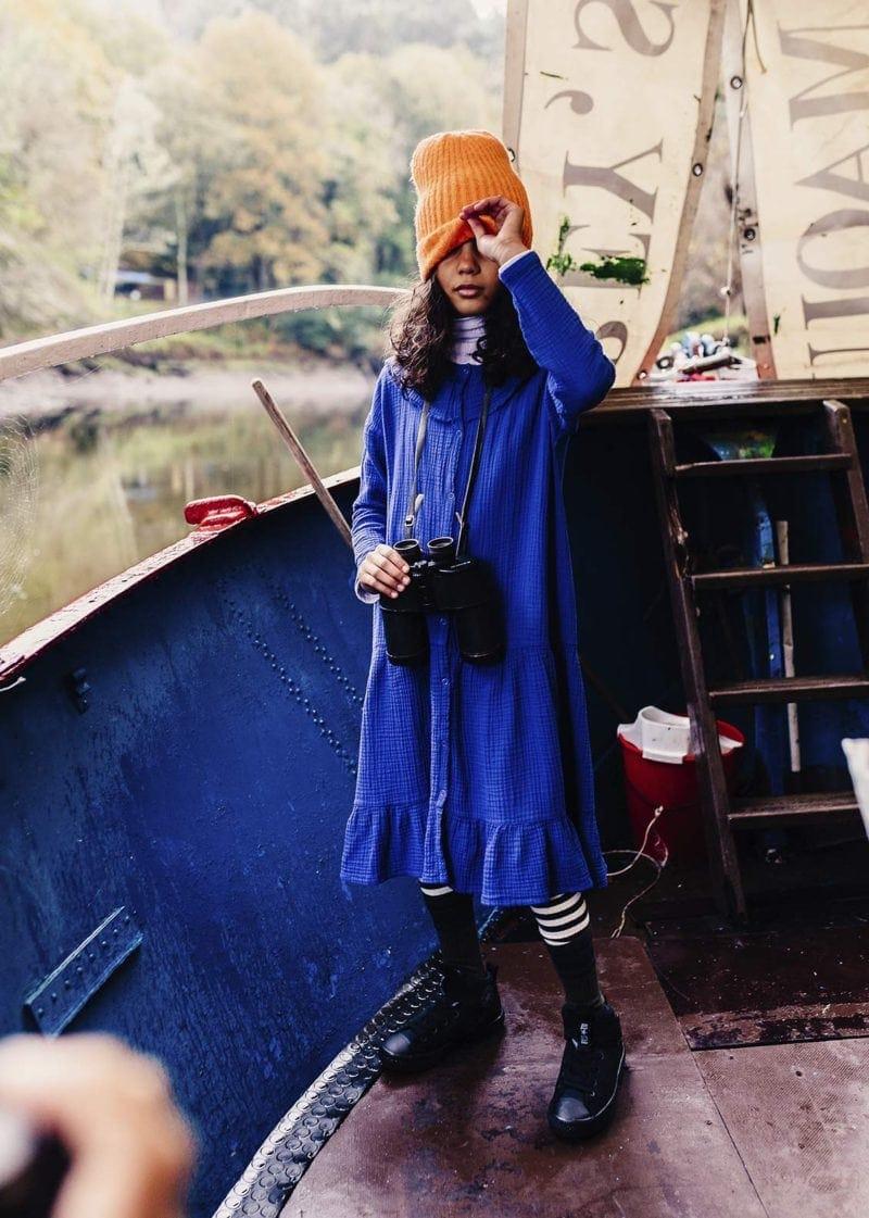 Blue-bambula-dress-kid