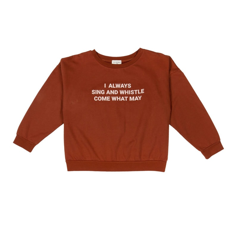 Brown-Sing-and-Whistle-Sweatshirt-front