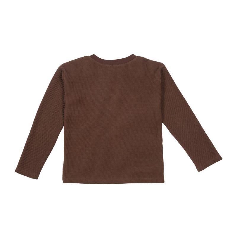 Brown-waffle-tshirt-back