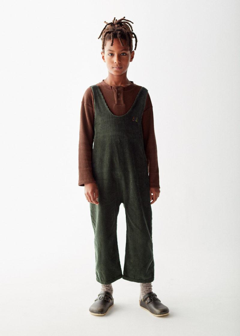 Brown-waffle-tshirt-kid