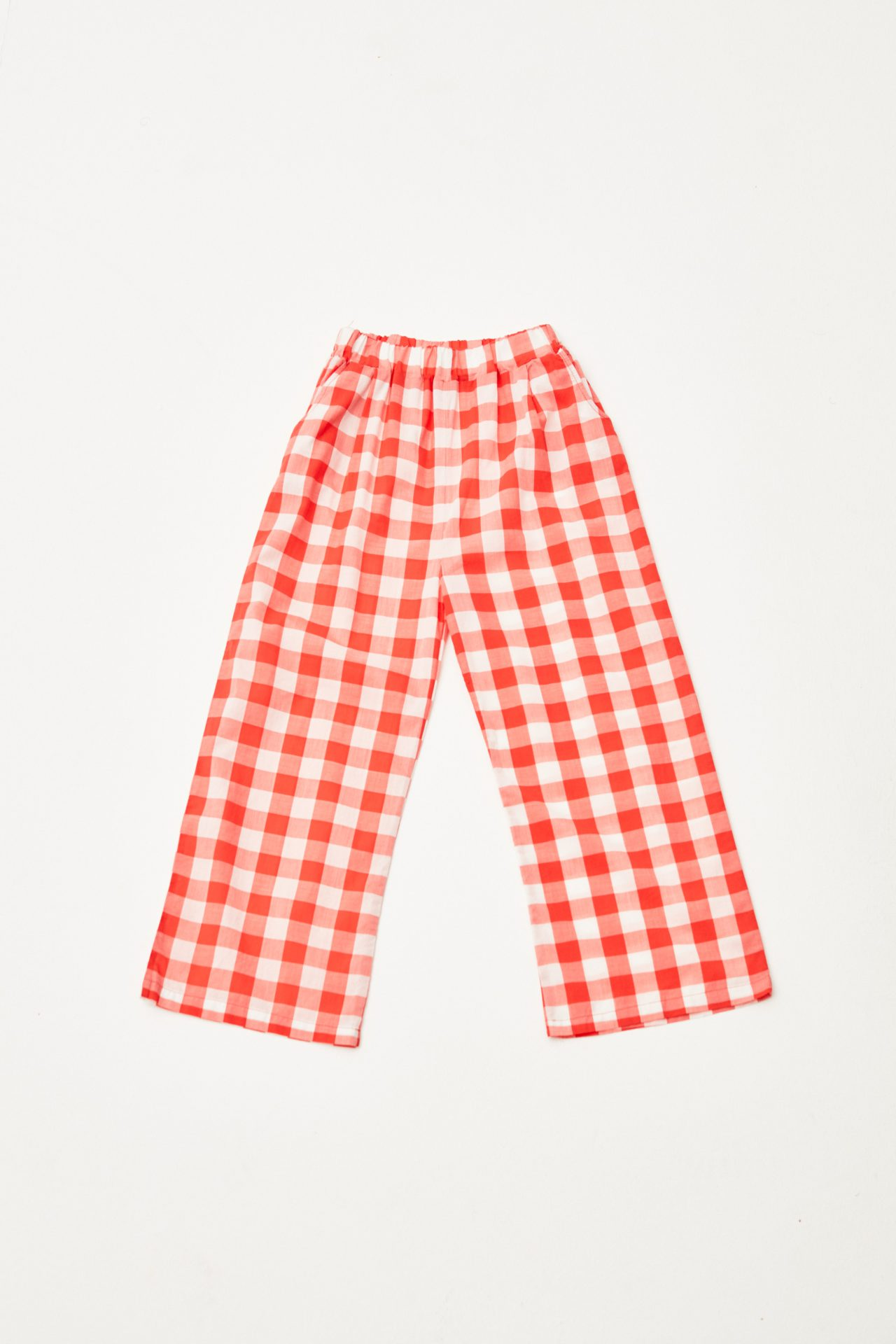 Red Checked Pants
