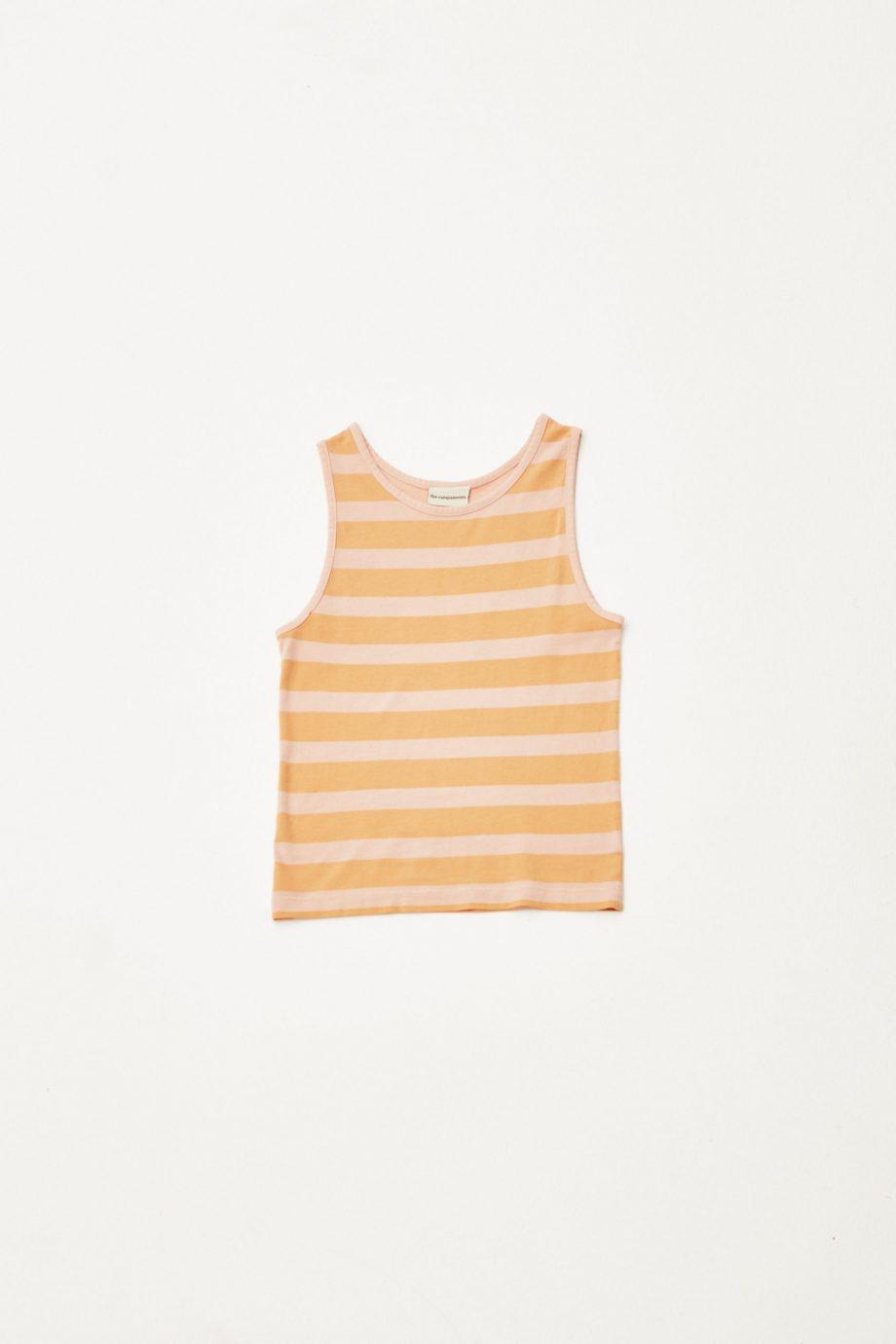 Stripped Sleveless Tshirt