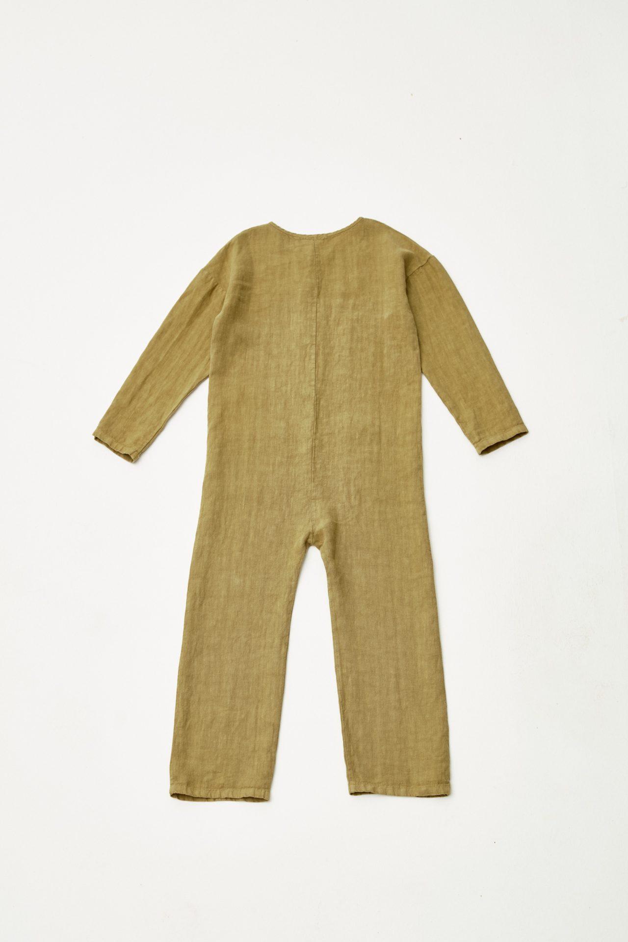 Linen Worker Overall back