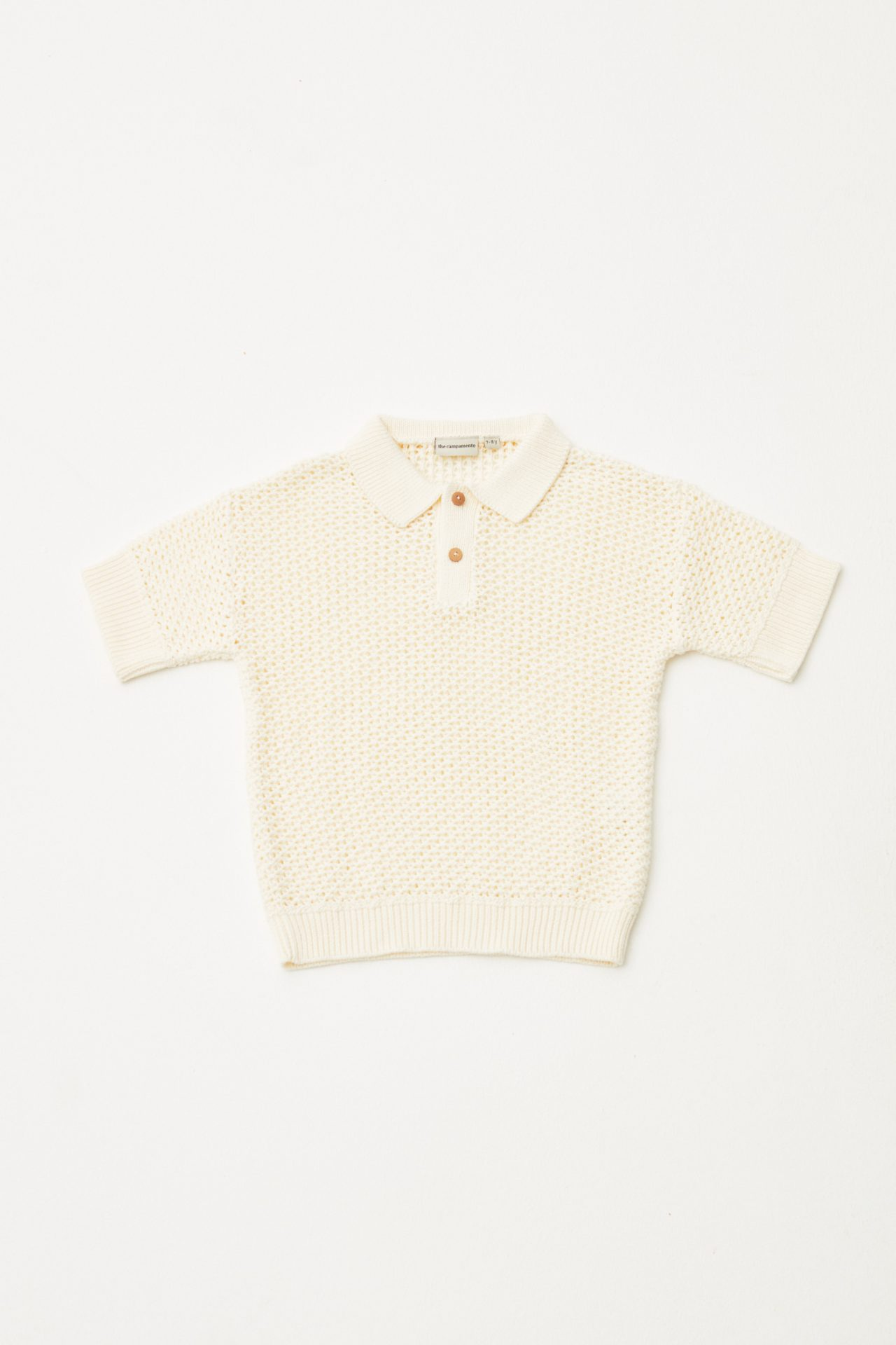Open Knitted Polo