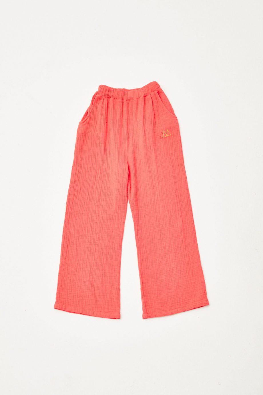 Red Bambula Pants