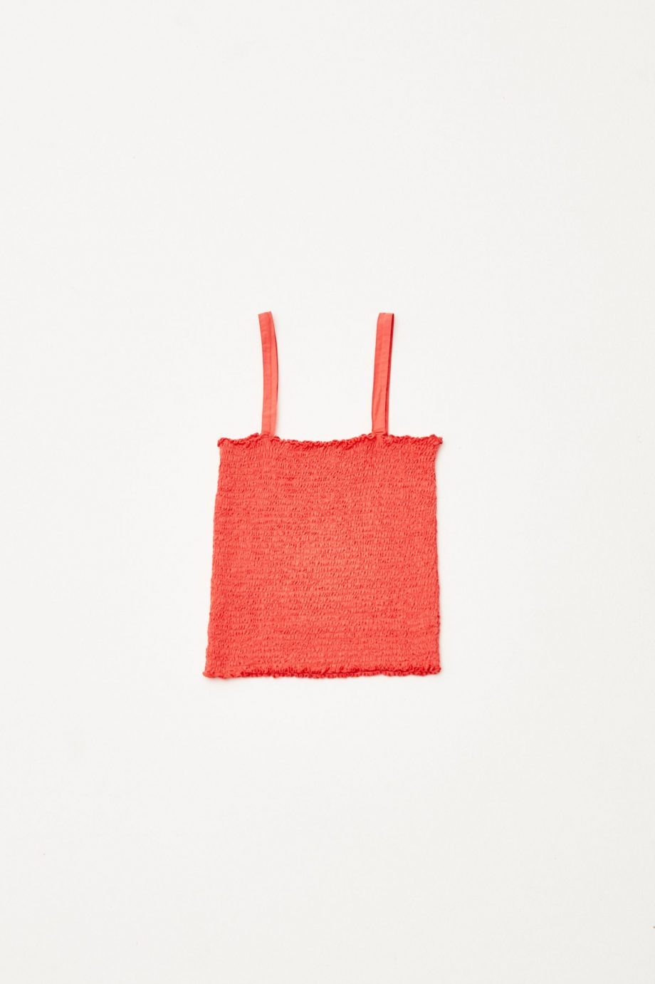 Red Smock Top