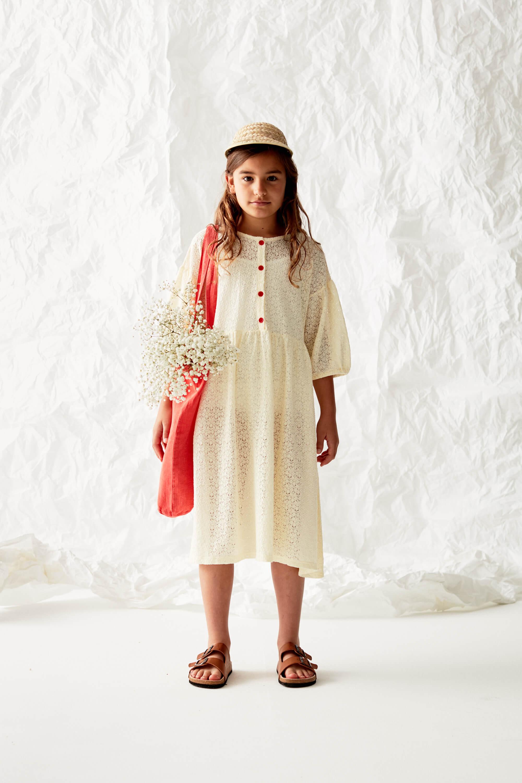Lace Dress Look