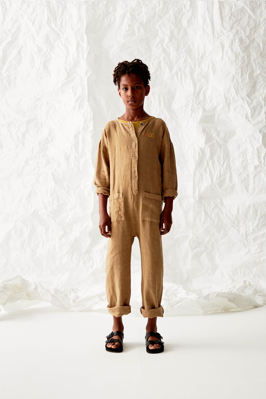 Linen Worker Overall Look